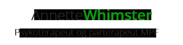 Annette Whimster Psykoterapi